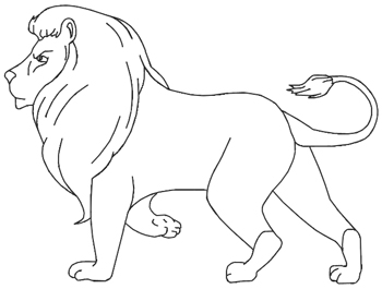 How to Draw a Lion for Kids - Draw Step by Step