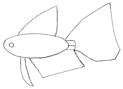 How To Draw A Fish Draw Step By Step