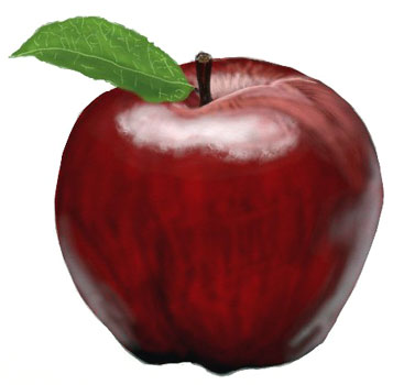 How To Draw An Apple Draw Step By Step