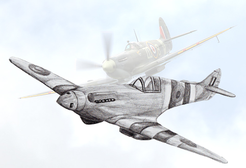 How to Draw a Fighter Plane, step by step