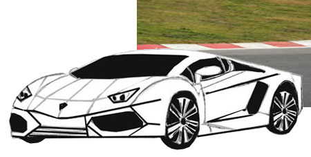 How To Draw Sports Car Draw Step By Step